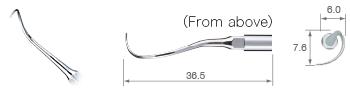 Perio – Root Planing/P25L-S – variosurg